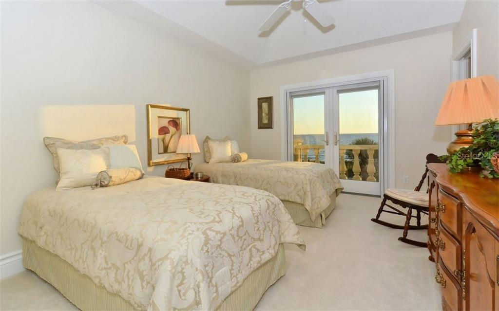 2nd Guest Bedroom in main house also offers beach views - Single Family Home for sale at 730 N Manasota Key Rd, Englewood, FL 34223 - MLS Number is D5912725