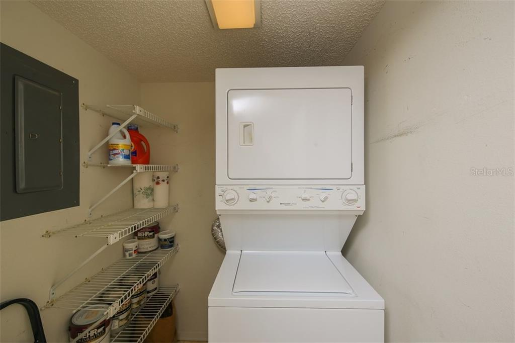 Laundry Room - Condo for sale at 5760 Midnight Pass Rd #702, Sarasota, FL 34242 - MLS Number is D5916943