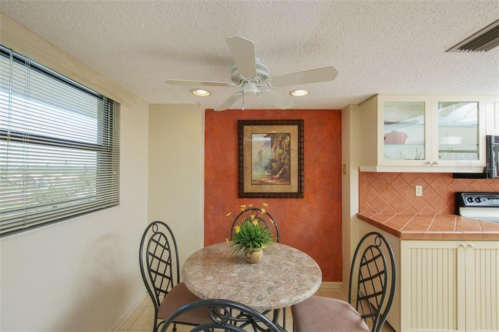 Breakfast Area - Condo for sale at 5760 Midnight Pass Rd #702, Sarasota, FL 34242 - MLS Number is D5916943