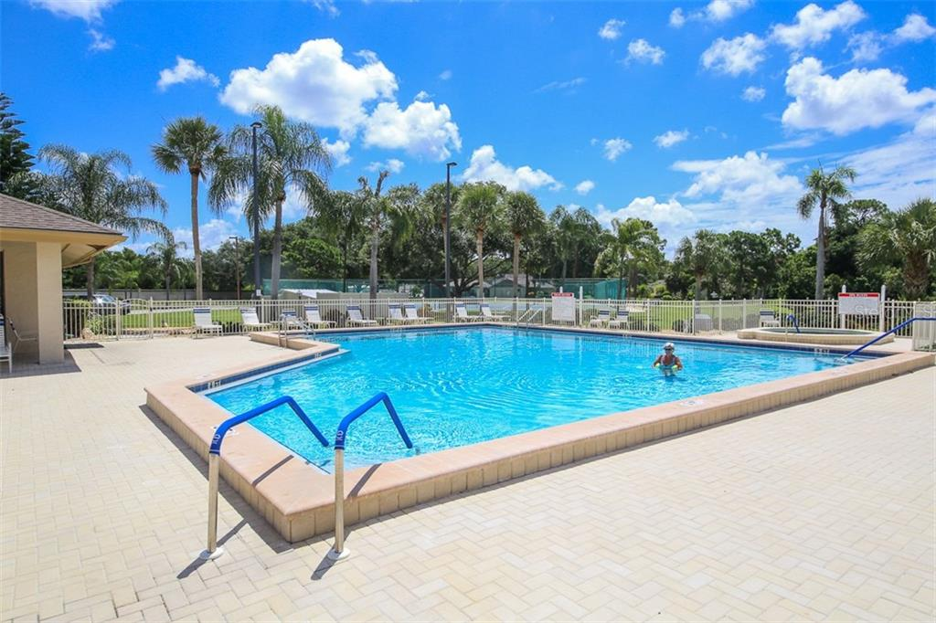 Community Pool - Single Family Home for sale at 317 Indian River Ln, Englewood, FL 34223 - MLS Number is D5919375