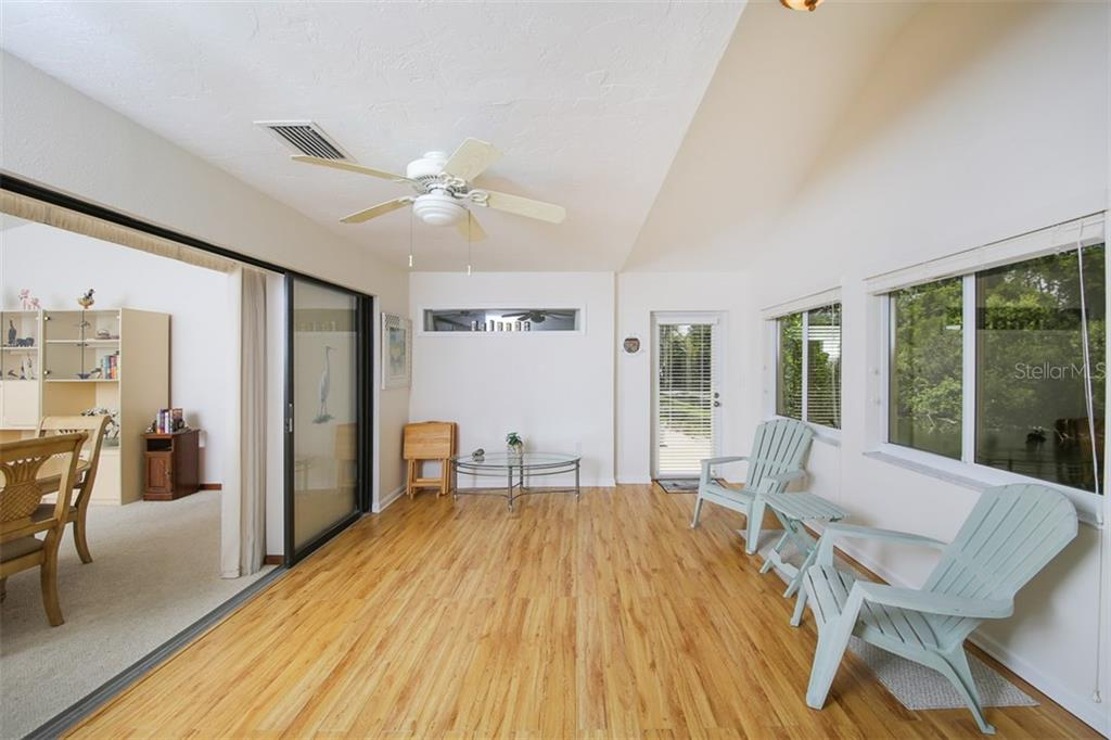 Florida Room - Single Family Home for sale at 317 Indian River Ln, Englewood, FL 34223 - MLS Number is D5919375