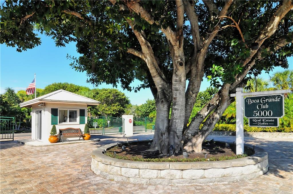 Club entrance - Condo for sale at 5000 Gasparilla Rd #44-A, Boca Grande, FL 33921 - MLS Number is D5921810