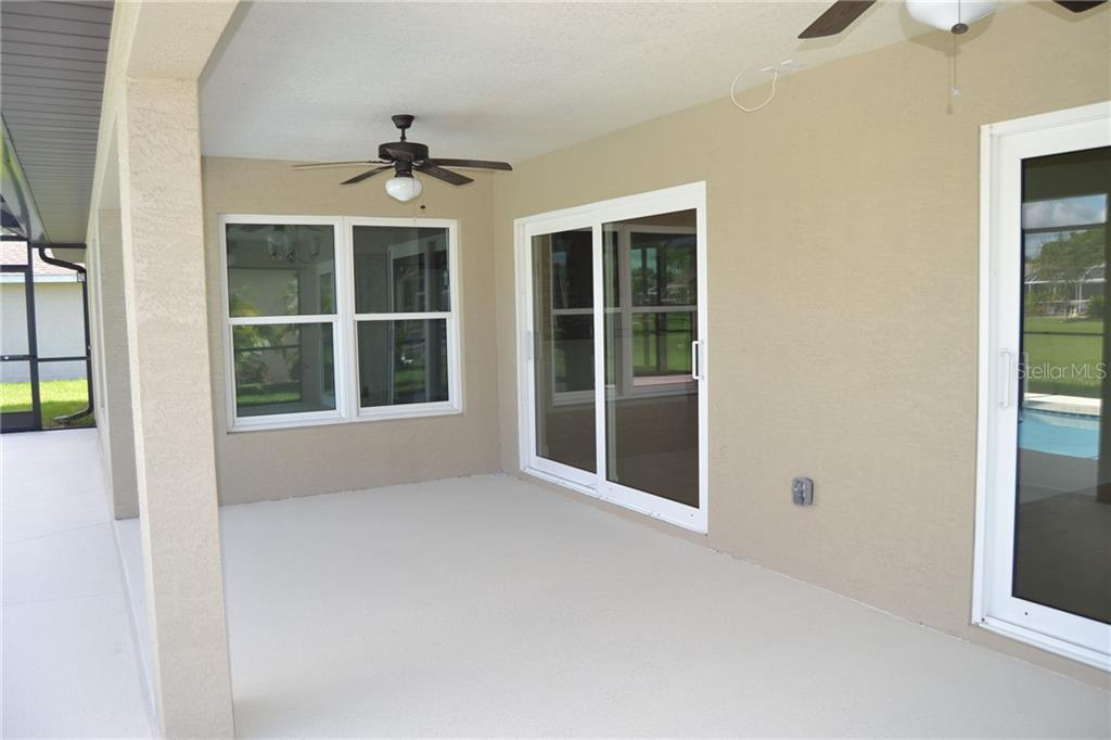 Master bedroom in model - Single Family Home for sale at 248 Broadmoor Ln, Rotonda West, FL 33947 - MLS Number is D5923019