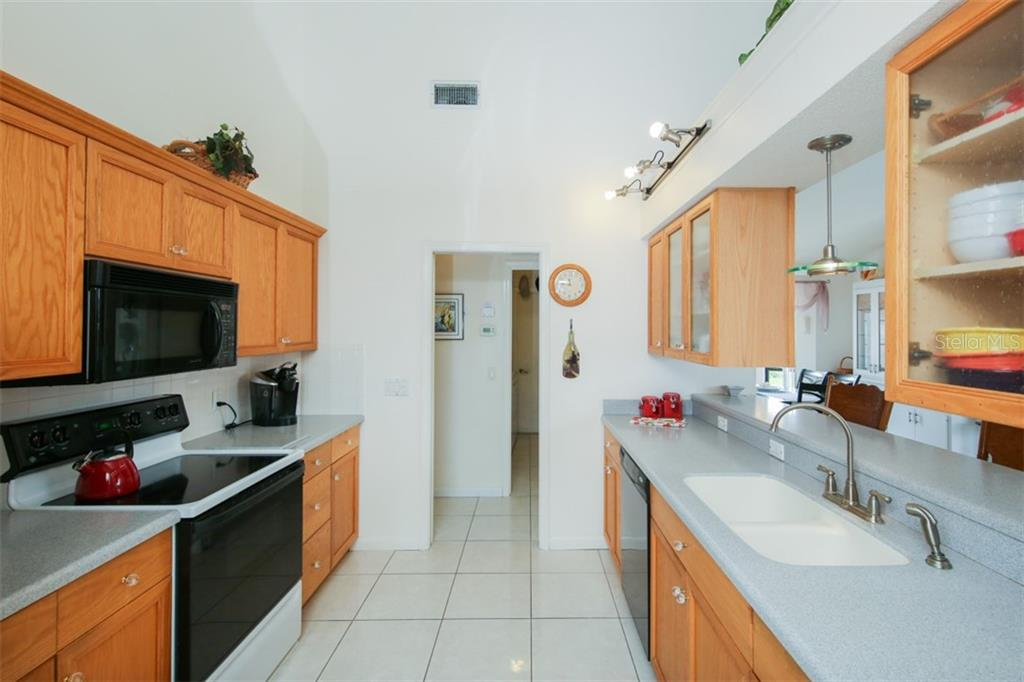 Kitchen - Single Family Home for sale at 332 Eden Dr, Englewood, FL 34223 - MLS Number is D6100012