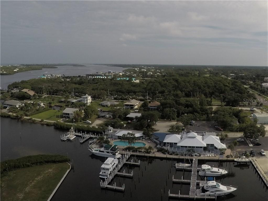 Aerial view - Condo for sale at 7070 Placida Rd #1121, Placida, FL 33946 - MLS Number is D6100747