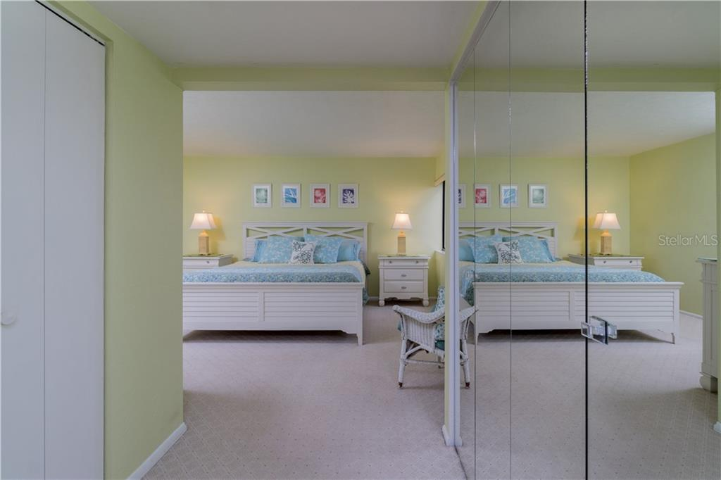 Hallway to Master Bedroom - Condo for sale at 2955 N Beach Rd #b612, Englewood, FL 34223 - MLS Number is D6101147