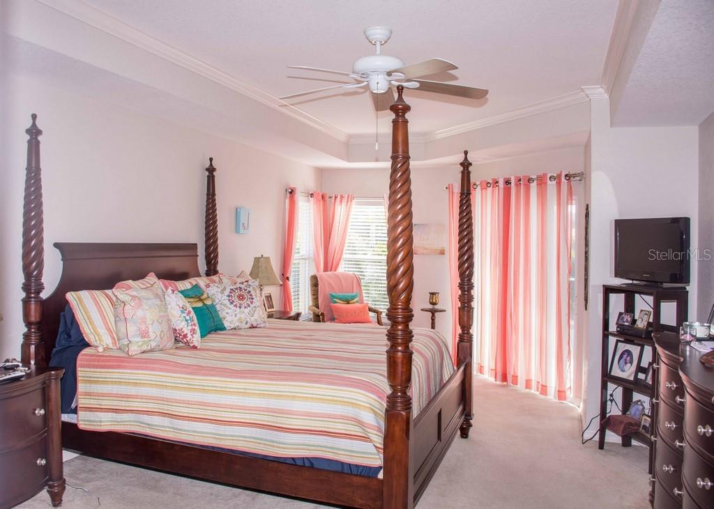 Very large Master Bedroom. - Single Family Home for sale at 14 Long Meadow Ln, Rotonda West, FL 33947 - MLS Number is D6102683