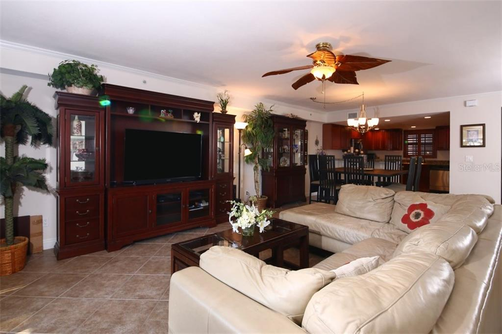 Living Dining Area - Condo for sale at 50 Meredith Dr #8, Englewood, FL 34223 - MLS Number is D6103644
