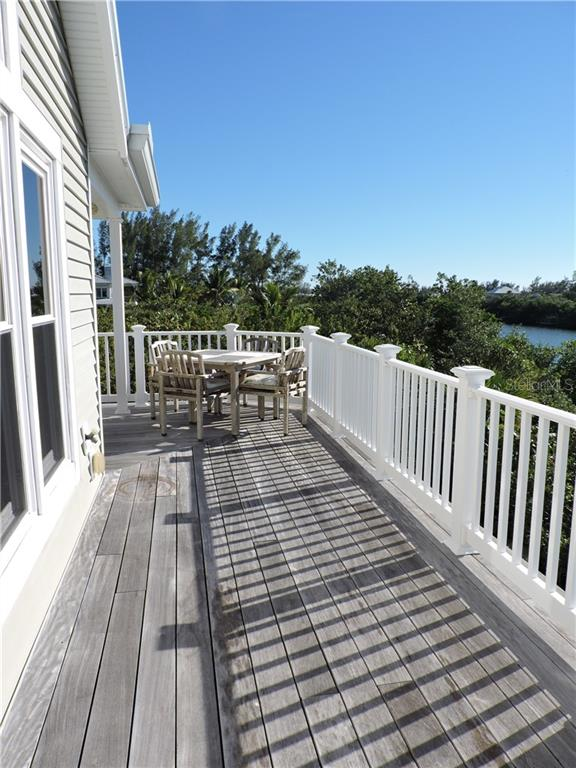 Deck Off Living Area. - Single Family Home for sale at 111 Kettle Harbor Dr, Placida, FL 33946 - MLS Number is D6104218