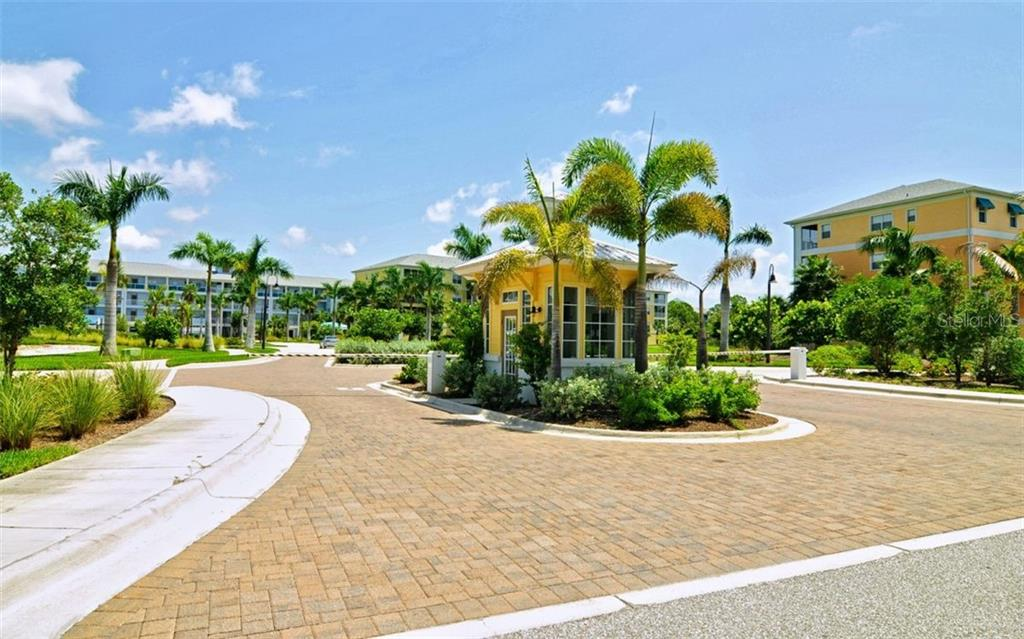 The Gated Entrance Provides for Additional Security, while still providing you an easy in & out of the resort.  Guests only need to dial your unit to announce their arrival and you let them in with the push of a button - Condo for sale at 8403 Placida Rd #401, Placida, FL 33946 - MLS Number is D6106182