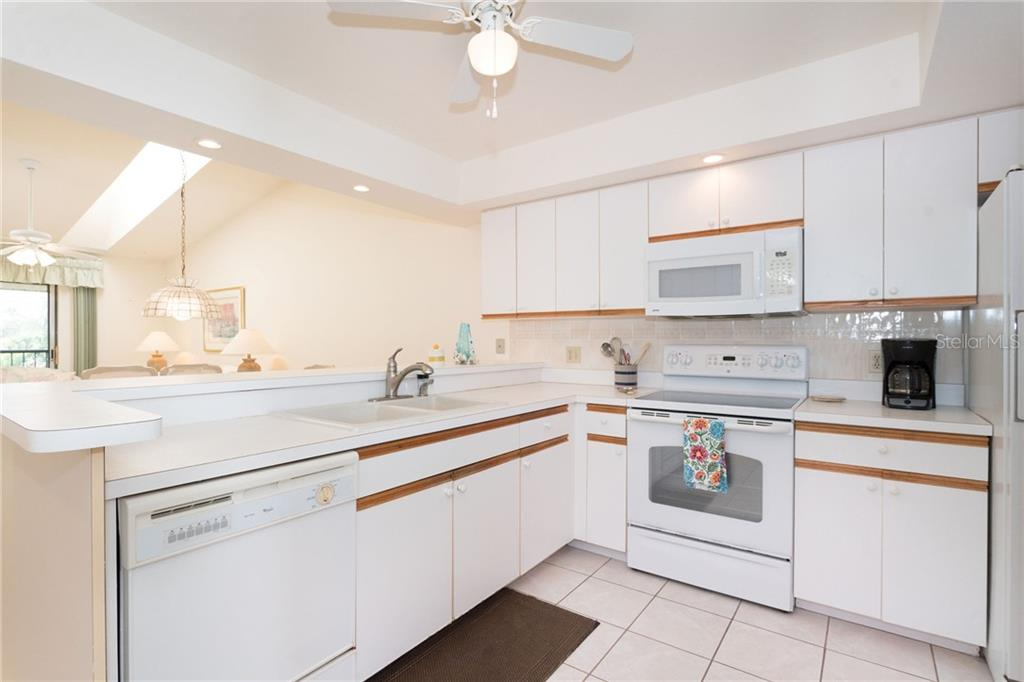 Ample prep area and storage in the large kitchen. - Condo for sale at 6800 Placida Rd #271, Englewood, FL 34224 - MLS Number is D6106459