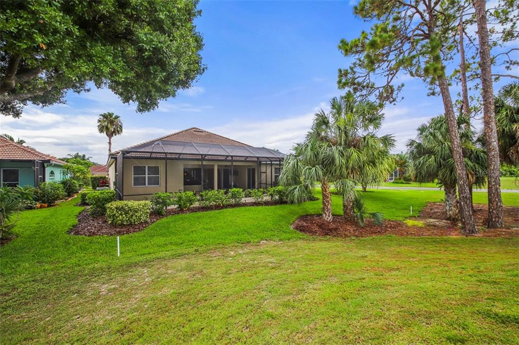 REAR OF HOME - Single Family Home for sale at 2373 Silver Palm Rd, North Port, FL 34288 - MLS Number is D6107376