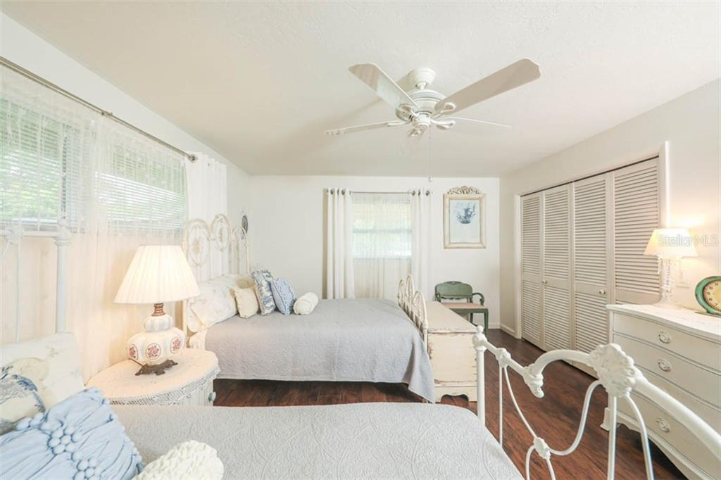 Second Bedroom with Large Closet - Single Family Home for sale at 1626 New Point Comfort Rd, Englewood, FL 34223 - MLS Number is D6108454