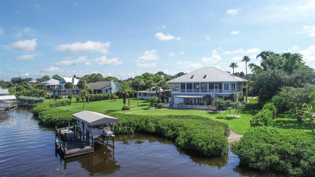 Two Boat Lifts - Single Family Home for sale at 1636 New Point Comfort Rd, Englewood, FL 34223 - MLS Number is D6108467