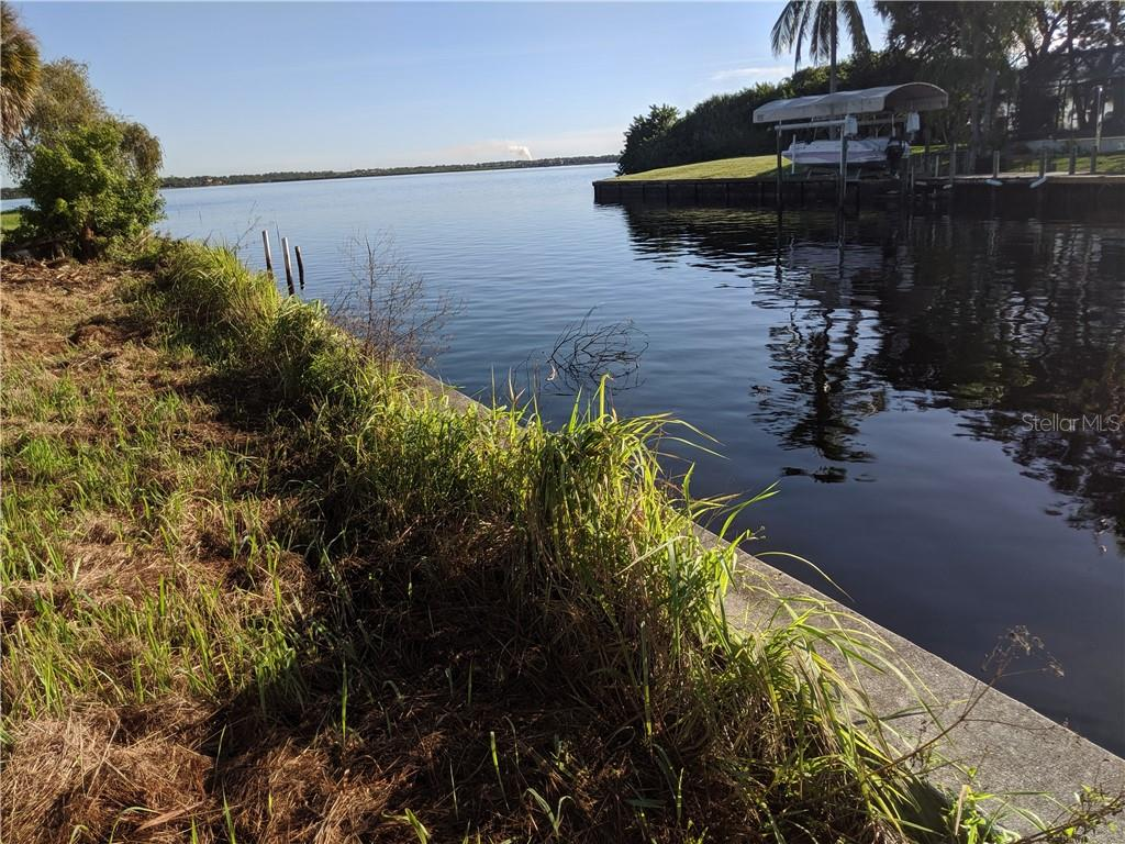 Concrete seawall in place. - Vacant Land for sale at 2400 Vance Ter, Port Charlotte, FL 33981 - MLS Number is D6109360