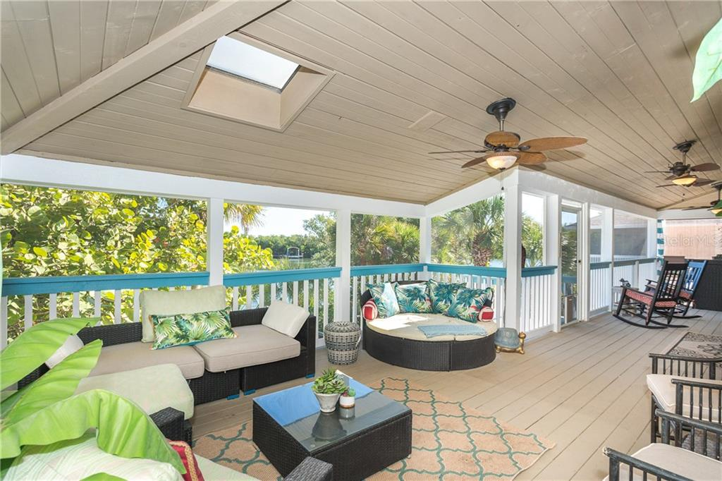 Rear Deck. - Single Family Home for sale at 540 N Gulf Blvd, Placida, FL 33946 - MLS Number is D6110801