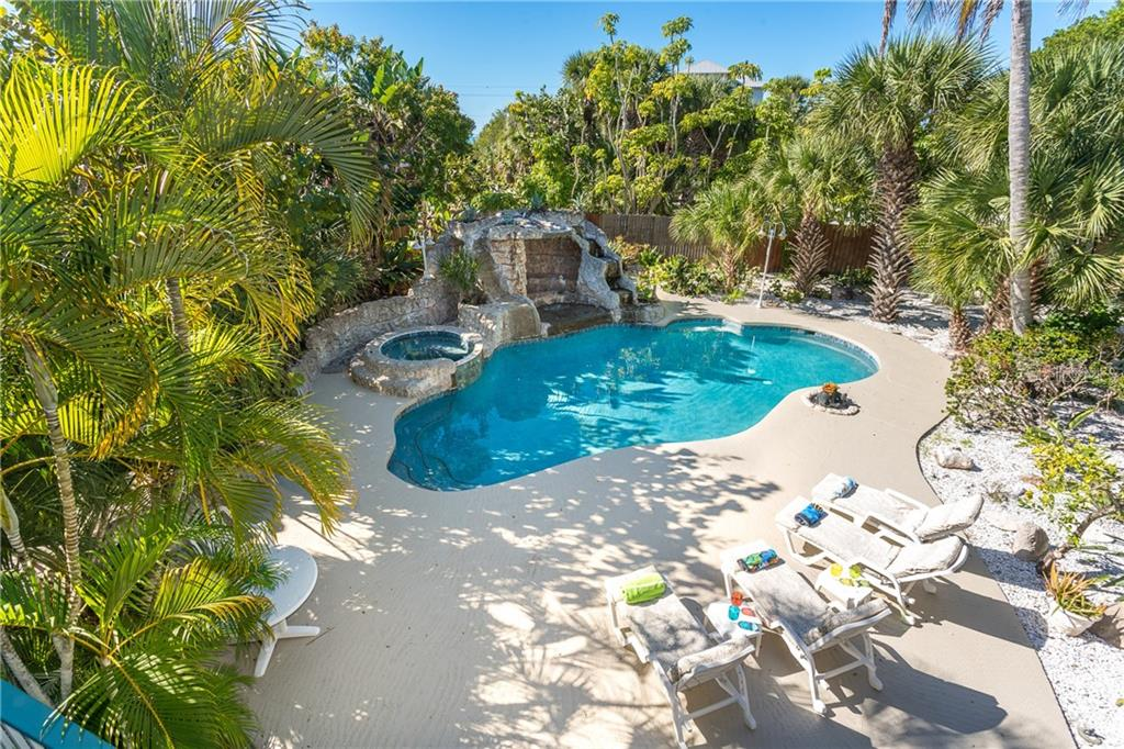 View of Pool, Spa and Pool Deck. - Single Family Home for sale at 540 N Gulf Blvd, Placida, FL 33946 - MLS Number is D6110801