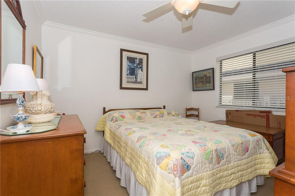 Guest bedroom - Condo for sale at 1551 Beach Rd #412, Englewood, FL 34223 - MLS Number is D6110828