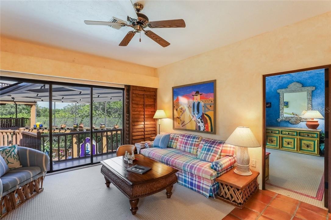 2nd floor living room in guest wing - Single Family Home for sale at 4090 Loomis Ave, Boca Grande, FL 33921 - MLS Number is D6112331