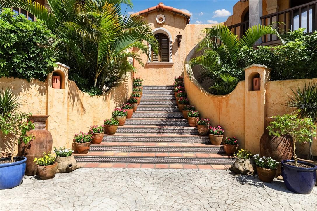 A very grand entrance - Single Family Home for sale at 4090 Loomis Ave, Boca Grande, FL 33921 - MLS Number is D6112331