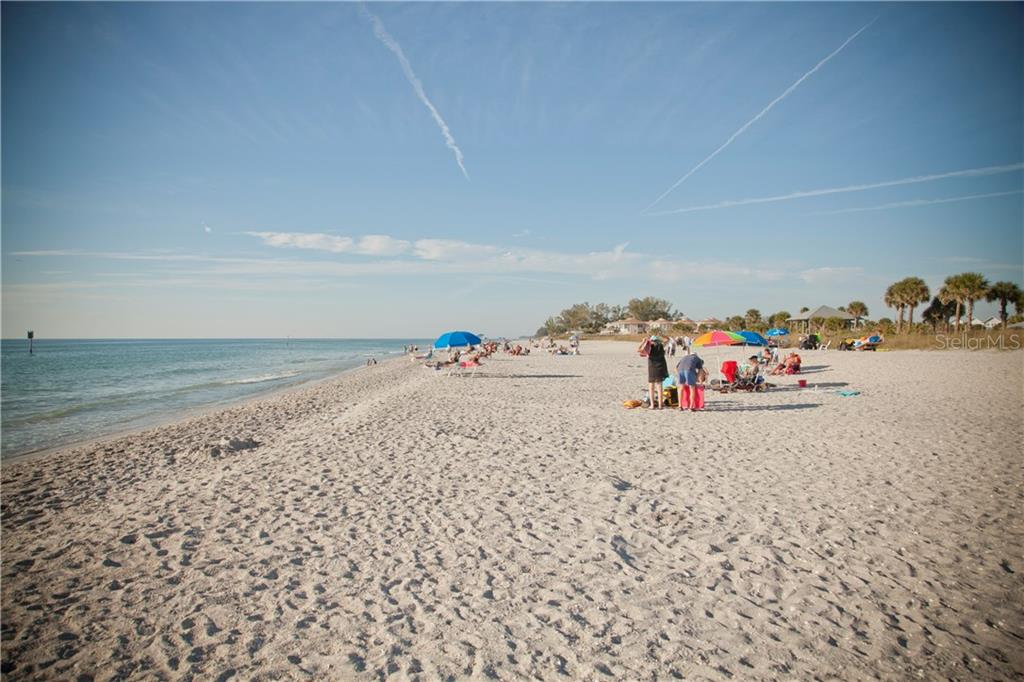 Wide beach - Recently renourished - Condo for sale at 2245 N Beach Rd #304, Englewood, FL 34223 - MLS Number is D6112346