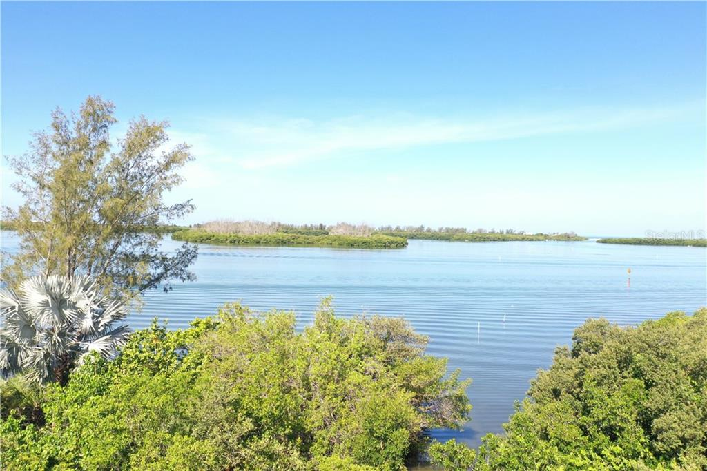 ground level view of intercoastal - Vacant Land for sale at 9427 Downing St, Englewood, FL 34224 - MLS Number is D6112667