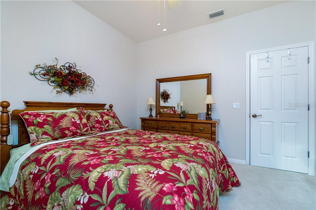 Another view of bedroom #2 - Single Family Home for sale at 439 Boundary Blvd, Rotonda West, FL 33947 - MLS Number is D6114162