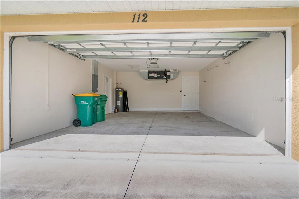 THE 2-CAR GARAGE IS 17.5 X 20.   THE GARAGE DOOR IS HURRICANE RATED. - Single Family Home for sale at 112 Boxwood Ln, Rotonda West, FL 33947 - MLS Number is D6114179