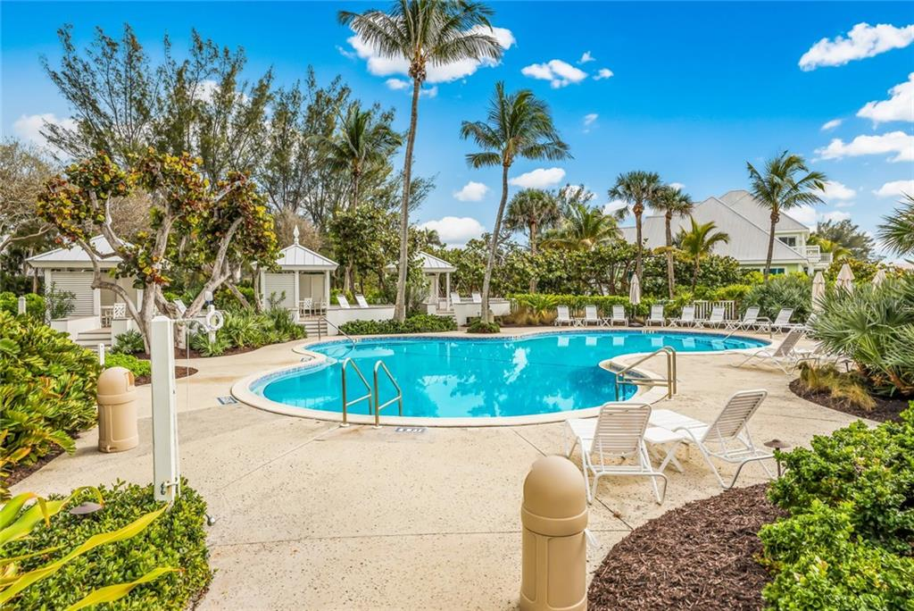 Community Beach House pool area - Single Family Home for sale at 561 Buttonwood Bay Dr, Boca Grande, FL 33921 - MLS Number is D6114322