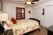 Second Bedroom with Double Closets - Condo for sale at 50 Meredith Dr #8, Englewood, FL 34223 - MLS Number is D6103644
