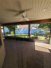 BACK YARD PATIO - Single Family Home for sale at 3617 Avenida Madera, Bradenton, FL 34210 - MLS Number is U8112999