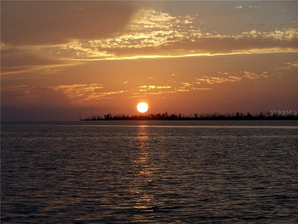 Sunset from Charlotte Harbor - Vacant Land for sale at 25478 Estrada Cir, Punta Gorda, FL 33955 - MLS Number is C7242940