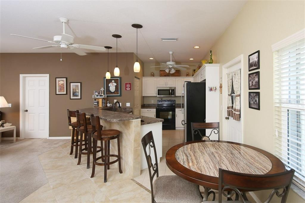 Kitchen was totally remodeled in the last few years with raised panel cabinets - Villa for sale at 1268 Green Oak Trl, Port Charlotte, FL 33948 - MLS Number is C7243755
