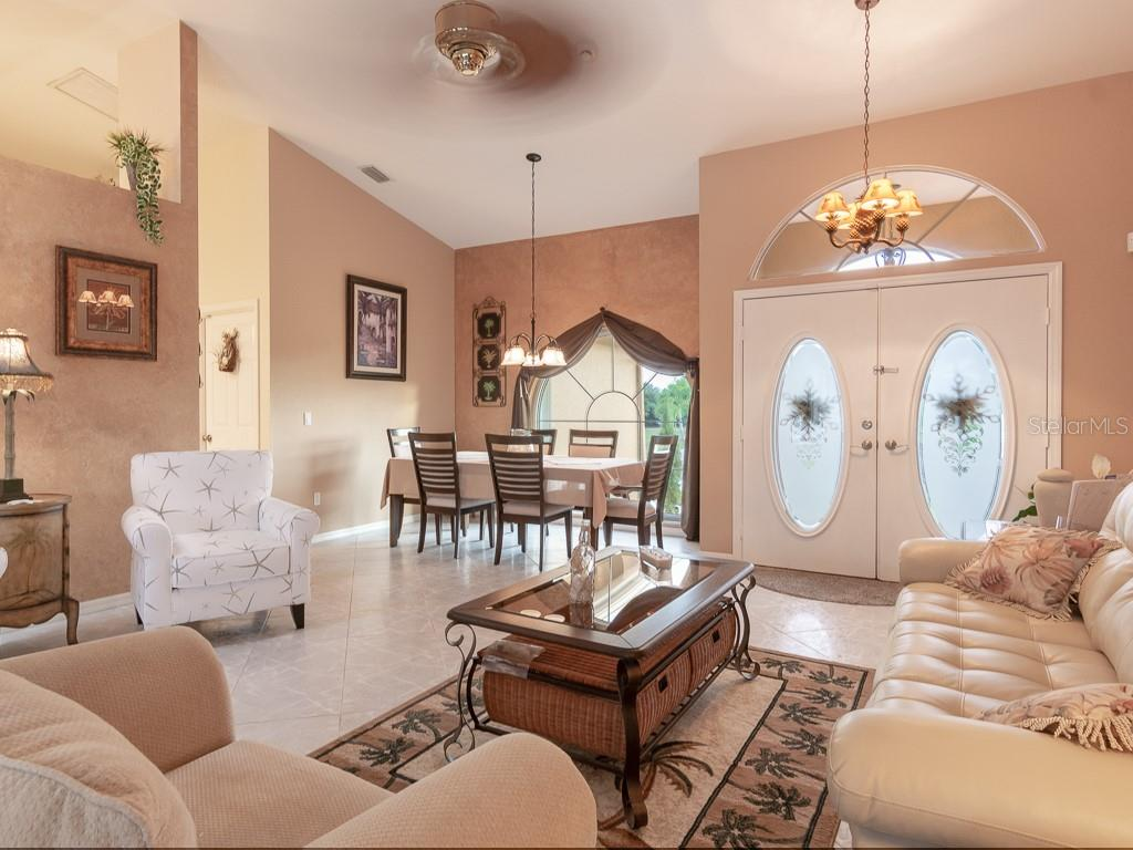Your formal dining room - Single Family Home for sale at 15464 Avery Rd, Port Charlotte, FL 33981 - MLS Number is C7401914