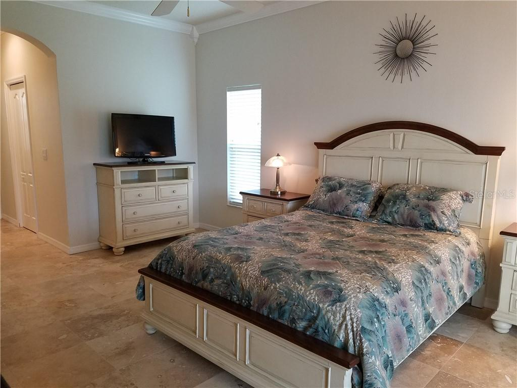 Two large walk in closets offer plenty of storage. - Single Family Home for sale at 2752 Suncoast Lakes Blvd, Punta Gorda, FL 33980 - MLS Number is C7402671
