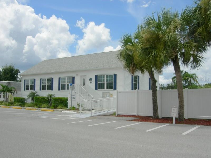 Management office on-site - Manufactured Home for sale at 66 Windmill Blvd, Punta Gorda, FL 33950 - MLS Number is C7405183