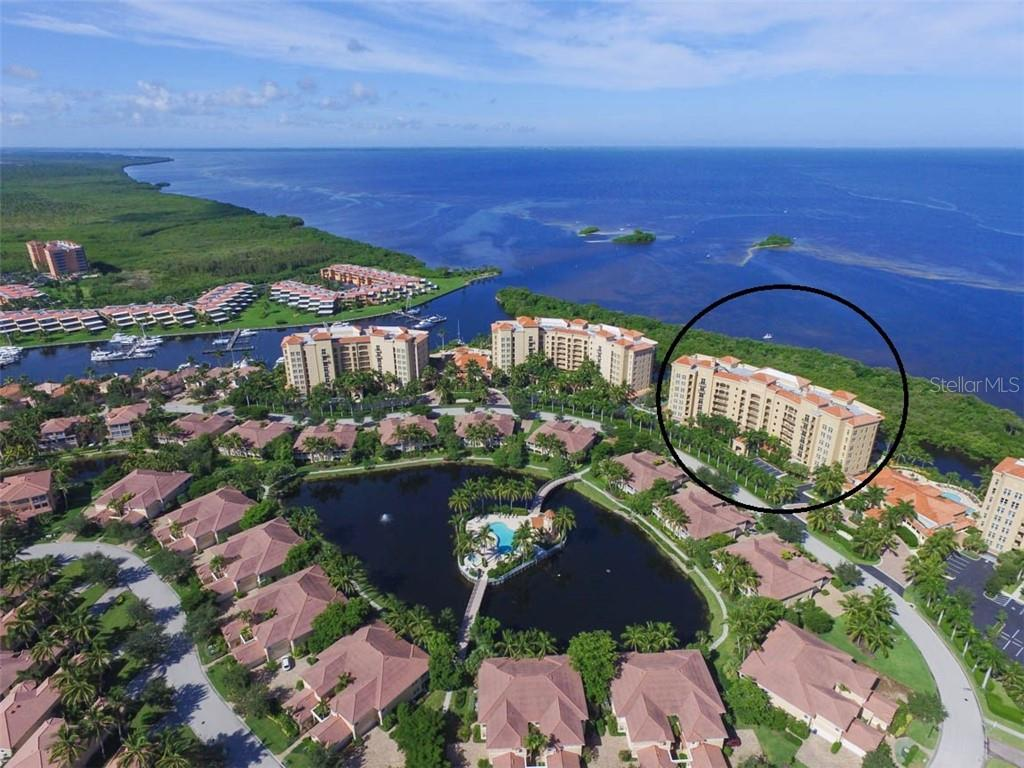 Grande Isle Towers are situated on a gated peninsula known as Prosperity Point with Charlotte Harbor and the Gulf of Mexico in its backyard.  Add to that, Burnt Store Marina's north and south basins and you have discovered paradise! - Condo for sale at 3329 Sunset Key Cir #503, Punta Gorda, FL 33955 - MLS Number is C7406727
