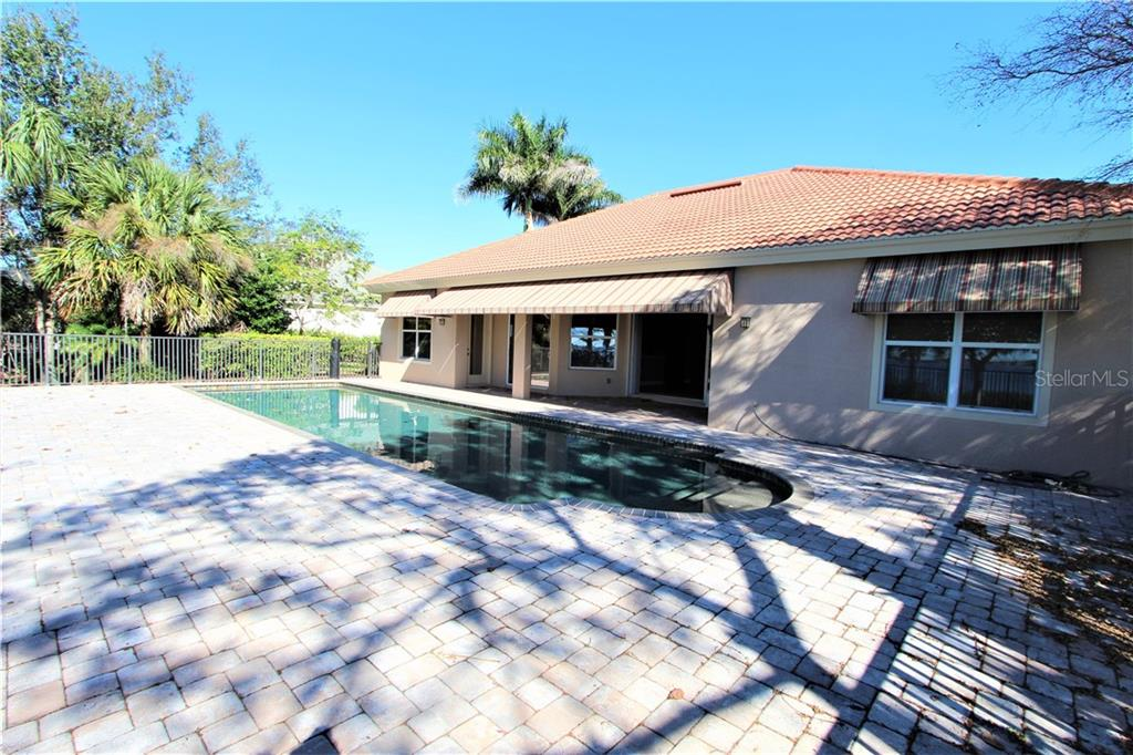 Pool & Extended Deck - Single Family Home for sale at 2823 Mill Creek Rd, Port Charlotte, FL 33953 - MLS Number is C7409892