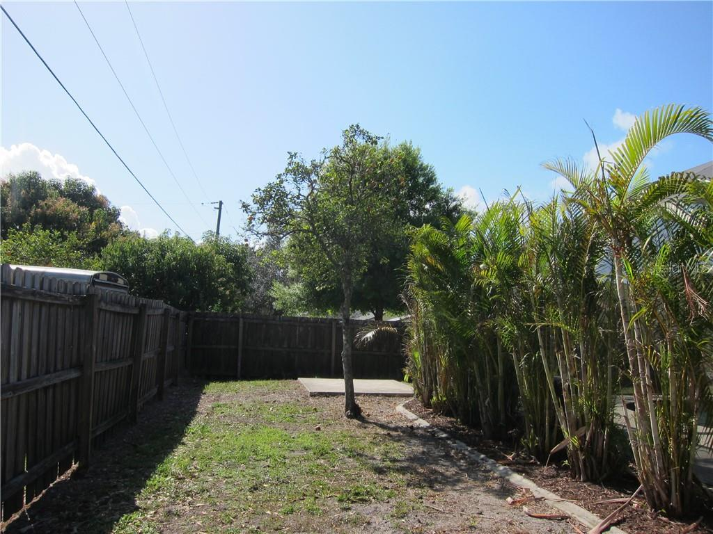 Rear yard - Single Family Home for sale at 1170 Richter St, Port Charlotte, FL 33952 - MLS Number is C7411803