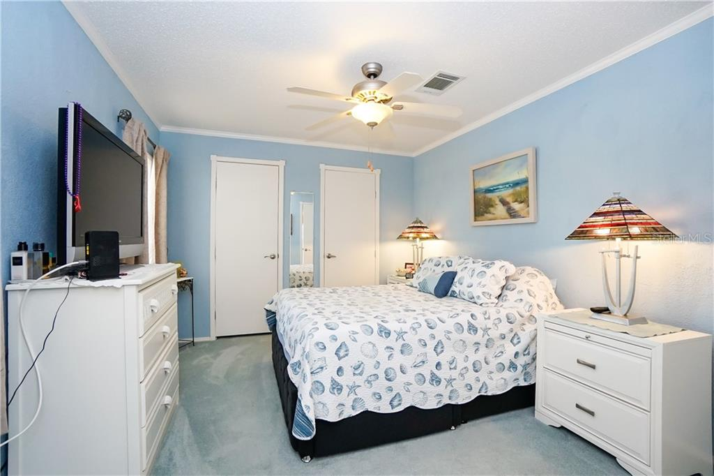 His & Hers Closets - Manufactured Home for sale at 10101 Burnt Store Rd #23, Punta Gorda, FL 33950 - MLS Number is C7413977