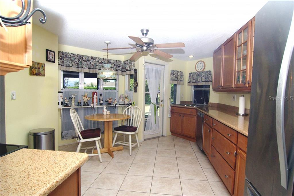Eat-in Kitchen view 2 - Single Family Home for sale at 2195 Abscott St, Port Charlotte, FL 33952 - MLS Number is C7414291