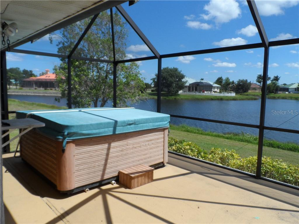 Hot tub - Single Family Home for sale at 24126 Santa Inez Rd, Punta Gorda, FL 33955 - MLS Number is C7416081