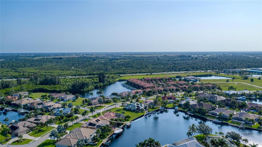 Truly lovely lot - one of the few remaining on Tripoli - Vacant Land for sale at 3567 Tripoli Blvd, Punta Gorda, FL 33950 - MLS Number is C7420403