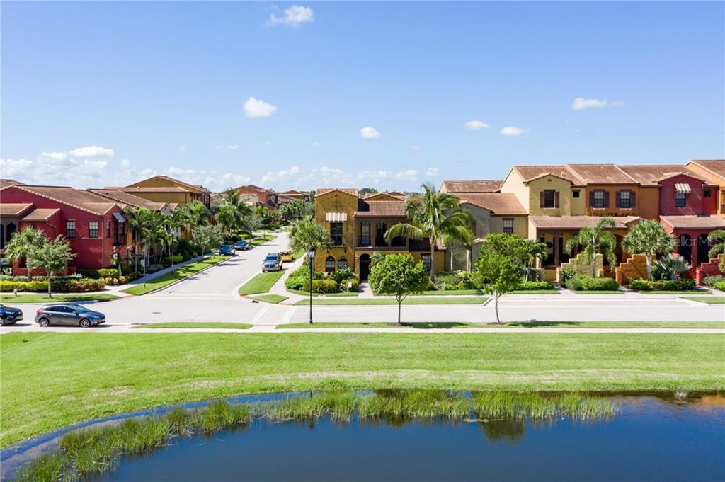THIS IS LAKE YOU SEE FROM ENCLOSED LANAI - AWESOME!!!! - Condo for sale at 11737 Adoncia Way #3805, Fort Myers, FL 33912 - MLS Number is C7430173
