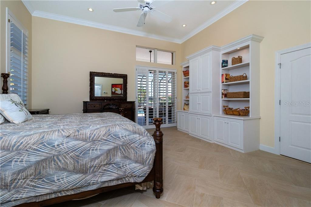 BUILT INS IN MASTER BEDROOM - Single Family Home for sale at 3537 Caya Largo Ct, Punta Gorda, FL 33950 - MLS Number is C7431664