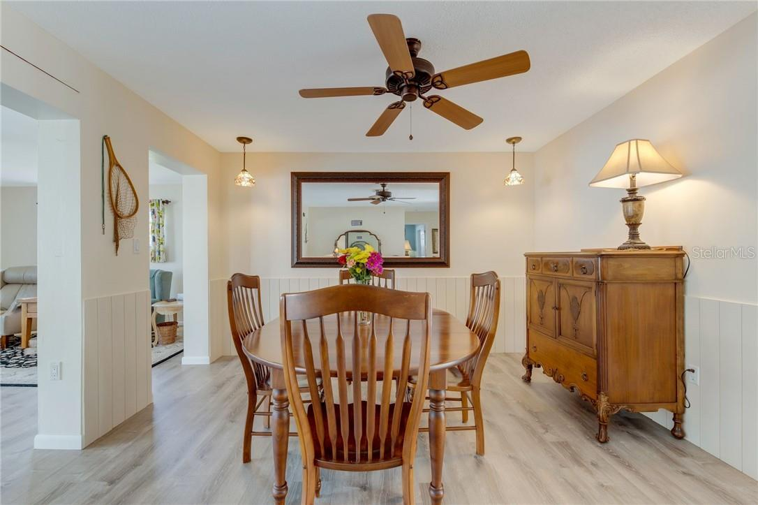 Delightful and spacious dining area. Plenty of room for friends and family. - Single Family Home for sale at 24368 Blackbeard Blvd, Punta Gorda, FL 33955 - MLS Number is C7436898