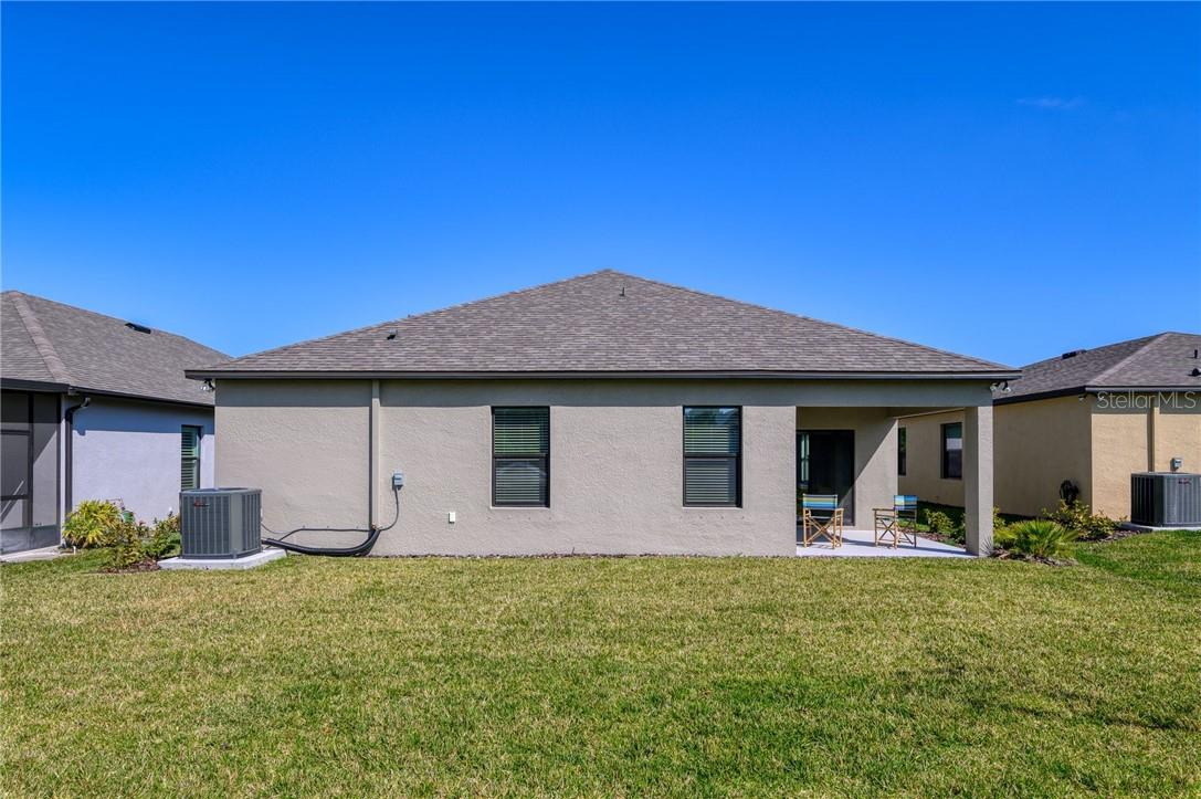 Large back yard may be fenced for those wanting more privacy. - Single Family Home for sale at 2082 Apian Way, Port Charlotte, FL 33953 - MLS Number is C7441465