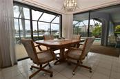 Breakfast area overlooking water views - Single Family Home for sale at 2601 Parisian Ct, Punta Gorda, FL 33950 - MLS Number is C7244389