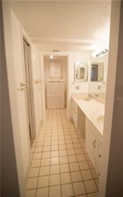 Dual sinks and dual medicine cabinets featured in Master's Ensuite Bath...plus a private water closet and walk-in shower. - Condo for sale at 1601 Park Beach Cir #112 / 2, Punta Gorda, FL 33950 - MLS Number is C7407435