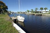 Concrete dock & Sea Wall - Vacant Land for sale at 182 Crescent Dr, Punta Gorda, FL 33950 - MLS Number is C7424669